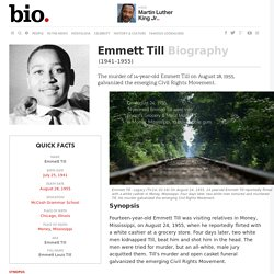 Biography.com: Emmett Till
