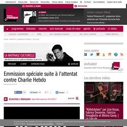 Emmission spéciale suite à l'attentat contre Charlie Hebdo de l'émission La matinale culturelle