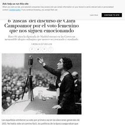 6 'zascas' del discurso de Clara Campoamor por el voto femenino que nos siguen emocionando