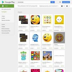 emociones - Aplicaciones Android en Google Play