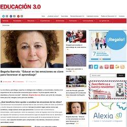 """Begoña Ibarrola: """"Educar en las emociones es clave para favorecer el aprendizaje"""""""