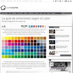 La guía de emociones según el color