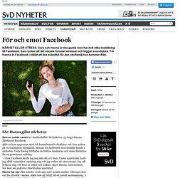 För och emot Facebook