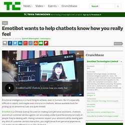 Emotibot wants to help chatbots know how you really feel