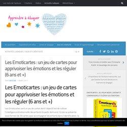 Les Emoticartes : un jeu de cartes pour apprivoiser les émotions et les réguler (6 ans et +)