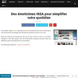 Des émoticônes IKEA pour simplifier votre quotidien