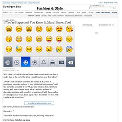 Emoticons Move to the Business World - Cultural Studies