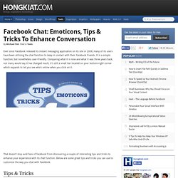 Facebook Chat: Emoticons, Tips & Tricks To Enhance Conversation - Flock