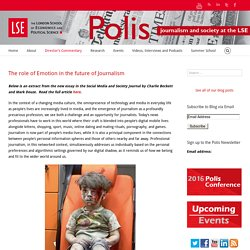 Polis – The role of Emotion in the future of Journalism