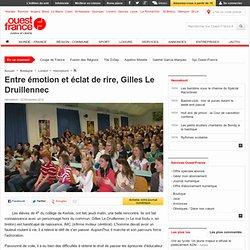 Entre émotion et éclat de rire, Gilles Le Druillennec , Hennebont 24/11/2012