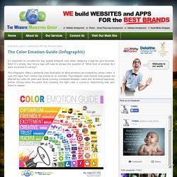 The Color Emotion Guide (Infographic) - The Website Marketing Group Blog