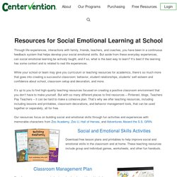 Social Emotional Learning for Students - Centervention®