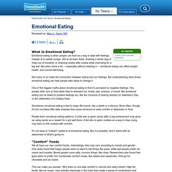 Emotional Eating (for Teens)