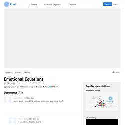 Emotional Equations by Chip Conley on Prezi