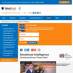 Emotional Intelligence - Develop your soft skills at MindTools.com