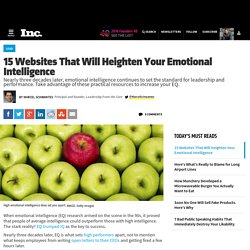 15 Websites That Will Heighten Your Emotional Intelligence