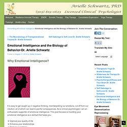 Emotional Intelligence-the Biology of Behavior