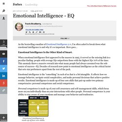 Emotional Intelligence - EQ