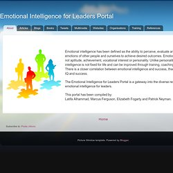 EI for Leaders Portal