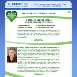Emotional Skills Toolkit: Bring Your Life Into Balance