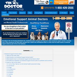 Emotional Support Animal Prescription Letter: Flying & Housing