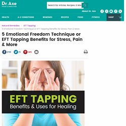 5 Emotional Freedom Technique or EFT Tapping Benefits