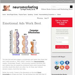 Emotional Ads Work Best - Neuromarketing