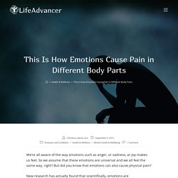This Is How Emotions Cause Pain in Different Body Parts