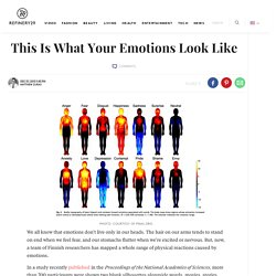 What Emotions Look Like - Feelings Visualized Study