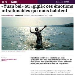 «Yuan bei» ou «gigil»: ces émotions intraduisibles qui nous habitent