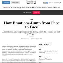 How Emotions Jump from Face to Face