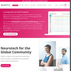 Emotiv - Brain Computer Interface Technology