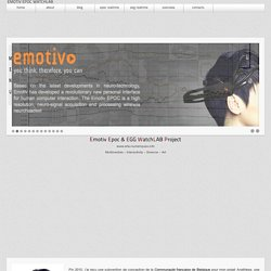 EPOC/EEG blog