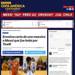 Emotiva carta de una maestra a Lionel Messi que fue leída por Tinelli