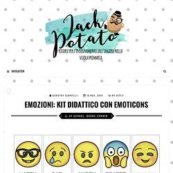 Emozioni: kit didattico con emoticons - Jack Potato