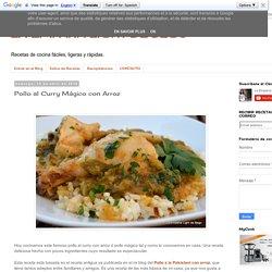 Pollo al Curry Mágico con Arroz