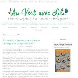 Empanadas végétariens sans gluten à l'aubergine et à l'oignon
