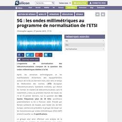 5G : l'ETSI s'empare des ondes millimétriques