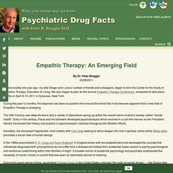 Empathic Therapy: An Emerging Field