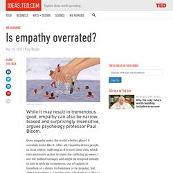 Empathy is overrated