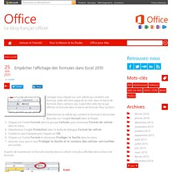 Office France : le blog officiel de Microsoft France