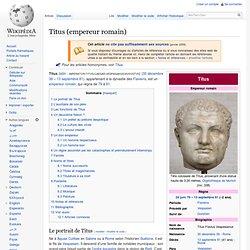 Titus (empereur romain)