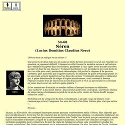 empereurs romains - néron (L. domitius claudius nero)