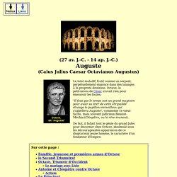 empereurs romains - auguste (octav. augustus)
