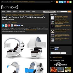 MWE Lab Emperor 200: The Ultimate Geek's Workstation