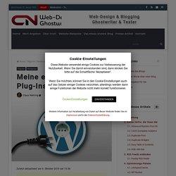 Meine empfohlenen Plug-Ins für Wordpress – CN Content, Websites & Blog