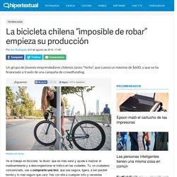 Empiezan a producir Yerka, la bici imposible de robar