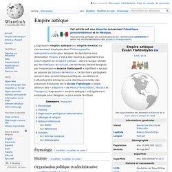 Empire aztèque