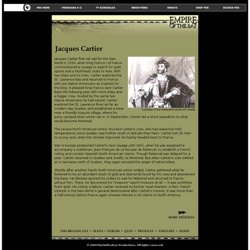 A biography and life work of jacques cartier a french navigator and explorer