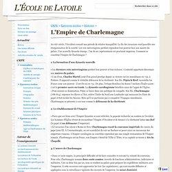 L'Empire de Charlemagne - L'École de Latoile